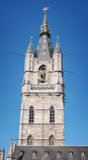 Belfry of Ghent, Belgium Stock Photos