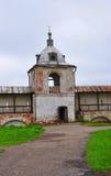 Belfry in Goritsky monastery. Pereslavl-Zalesskiy, Russia Royalty Free Stock Photography