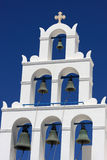 Belfry of greek church Royalty Free Stock Photo