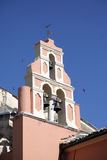 Belfry of Greek Ortodox Church. Royalty Free Stock Photos
