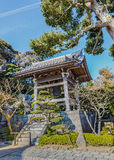 Belfry at Hasedera Temple in Kamakura Royalty Free Stock Photography