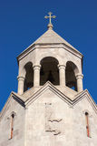 The belfry of Holy Trinity Church in Yerevan Royalty Free Stock Images