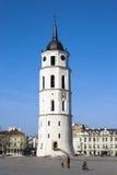 Belfry im Kathedrale-Quadrat Stockfotografie