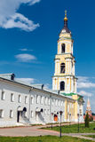 belfry Kloster Bogoyavlensky Staro-Golutvin Stockfotos