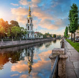 The belfry on the Kryukov Canal Royalty Free Stock Image