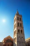 belfry La chiesa della st Donatus fotografia stock