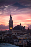 Belfry on the main square of Lille, France Stock Images