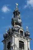 The Belfry of Mons, Belgium Royalty Free Stock Photography