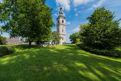 The Belfry of Mons, Belgium Royalty Free Stock Image