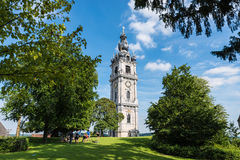 The Belfry of Mons, Belgium Royalty Free Stock Images