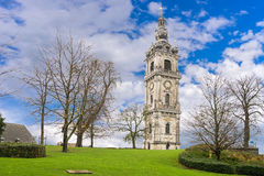 Belfry, Mons, Belgium. Belfry -the major cultural patrimony of Wallonia and is  a World Heritage Site by UNESCO, Mons, Belgium Royalty Free Stock Photography