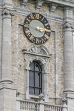 Belfry of Mons in Belgium. Stock Images
