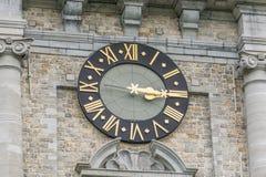 Belfry of Mons in Belgium. Royalty Free Stock Photos