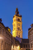 Belfry of Mons in Belgium. royalty free stock photography