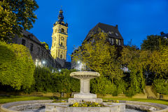Belfry of Mons in Belgium. royalty free stock image
