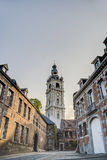Belfry of Mons in Belgium. Royalty Free Stock Images