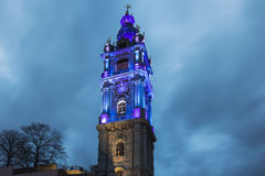 Belfry of Mons royalty free stock photo