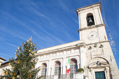 Belfry in Norcia Stock Photos