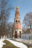 Belfry. Novodevichy convent Stock Photography