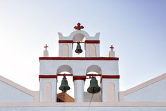 Belfry in Oia, Santorini, Greece Stock Photography