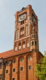 Belfry of Old Town Hall (XIV c.) in Torun, Poland Stock Photo