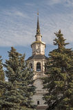 Belfry of Orthodox Cathedral. Bell tower of the Assumption Cathedral (17th century) in Veliky Ustyug, North Russia Royalty Free Stock Image