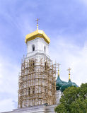 Belfry of orthodox church Royalty Free Stock Images