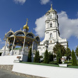 Belfry in Pochaev Lavra Royalty Free Stock Images