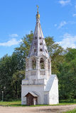 Belfry of Presentation of the Virgin Mary Church in Bezhetsk Royalty Free Stock Photos