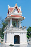 Belfry In public areas. Temple of Thai. Royalty Free Stock Photo