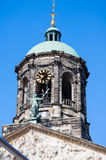 The belfry r of the Royal Palace in Amsterdam, Netherlands. Royalty Free Stock Image