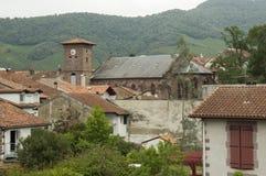 Belfry of Saint Jean Pied de Port Royalty Free Stock Photography