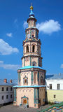 Belfry of saints Peter and Paul Cathedral in Kazan Stock Images