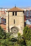Belfry of San Esteban Church, Burgos. Spain Stock Image