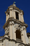 Belfry from Santa Agnese in Agone. Typical roman baroque belfry from Sant'Agnese church in the center of Piazza Navona, Rome Stock Photography
