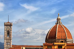 Belfry of Santa Maria del Fiore Stock Photos