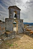 Belfry of Santa Maura. View on the Belfry of Fort Santa Maura in Greece Royalty Free Stock Images