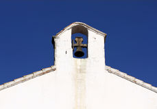 Belfry in spanish style. Royalty Free Stock Photo