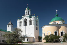 Belfry of the Spaso-Preobrazhensky monastery in Yaroslavl, Russia Stock Photos
