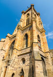 Belfry of St Martin's Church, Colmar, Alsace, France Royalty Free Stock Images