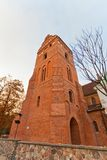Belfry of St. Mary Church (1411) in Warsaw, Poland Stock Photography