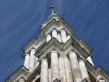 The belfry of St. Nicholas Cathedral. Of old town Kalyazin, Russia, Tverskaya oblast region Stock Photography