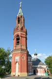 Belfry of St. Nicholas rite monastery in Moscow Royalty Free Stock Photography