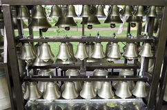 Belfry of St. Sophia Cathedral. Church bells close-up. Belfry of St. Sophia Cathedral in Kiev, Ukraine Royalty Free Stock Images