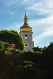 Belfry of St. Sophia Cathedral stock photos