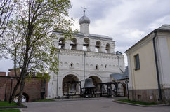 Belfry of St. Sophia Cathedral. Veliky Novgorod Royalty Free Stock Photography