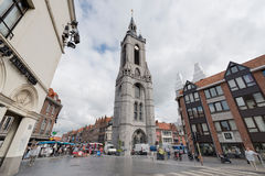The belfry of Tournai, Belgium. Royalty Free Stock Image