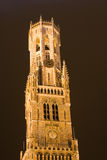 Belfry tower. In Bruges, Belgium Stock Photography