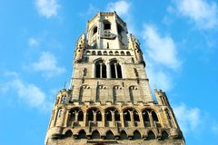 The Belfry tower Royalty Free Stock Photos