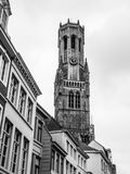 Belfry Tower of Bruges Royalty Free Stock Photography